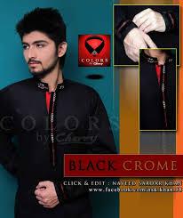 stylish kurta design 2014 for men by colors fashion