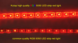 high quality ultra bright 12v ip67 rgb 5050 led light strip