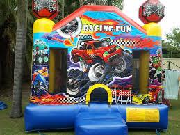 monster truck jumping castle hire brisbane u0026 ipswich brisbane