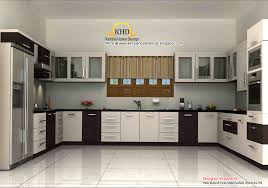 kitchen kerala style 3d rendering concept of interior designs