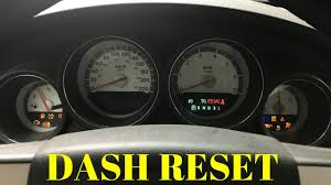 2010 dodge charger sxt check engine light how to 8 reset cluster dashboard 2006 2010 dodge charger