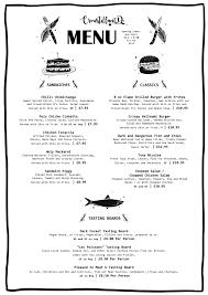 dinner menu seven stars brighton food