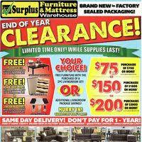 surplus furniture flyer saskatoon sk redflagdeals com