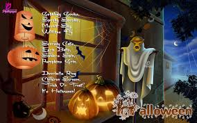 Childrens Halloween Poems Halloween Backgrounds Wallpapers And Wishes Cards With Children