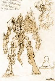 monster concept art letonian by ryannzha on deviantart