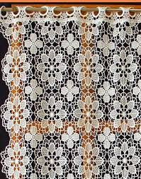 Lace Cafe Curtains Kitchen by 7 Best Lovin All Things Lace Images On Pinterest Lace Curtains
