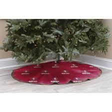 nfl licensed logo christmas tree skirt san francisco 49ers