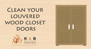 Closet Doors Louvered Clean Louvered Wood Closet Doors K And B Cabinets