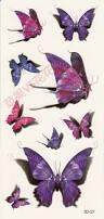 10 best purple butterfly 3d tattoos images on pinterest 3d