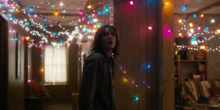 inside the screen get dazzled by the prop design of stranger things