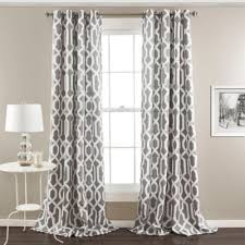 White Grey Curtains Buy Gray And White Curtains From Bed Bath Beyond