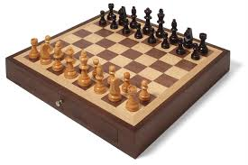 coolest chess sets collector u0027s edition chess set with walnut and oak finish chess