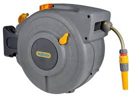 water hose reel wall mount amazon com hozelock water hose with retractable powerful reel for