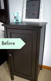 nightstand appealing hemnes nightstand dark gray stained ikea