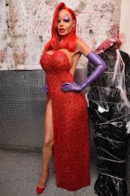 Halloween Costume Jessica Rabbit Heidi Klum Pushes Imagination Incredible Jessica Rabbit