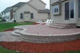 Building A Raised Patio How To Build A Raised Patio With Pavers Home Design Ideas