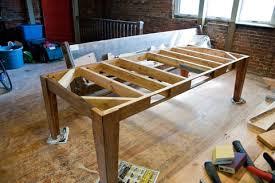 build your own table build your own table with reusable lumber