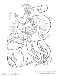 mermaid coloring pages mermaid