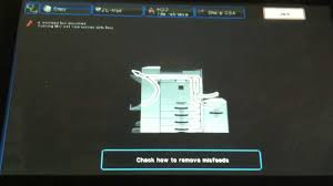 sharp copiers remove paper jam youtube