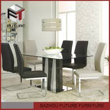 Wooden Dining Table Design With Glass Top Imported Glass Dining Table Imported Glass Dining Table Suppliers