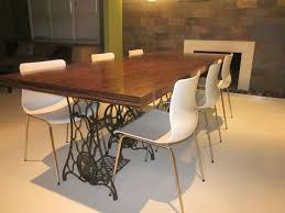 Slab Dining Room Table Extend A Wood Slab Dining Table Boundless Table Ideas