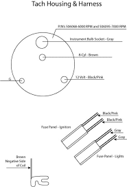 1968 mustang wiring diagrams with tach please help for tach wiring