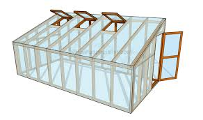 house plan how to build a lean to greenhouse howtospecialist how