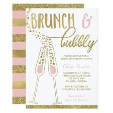 chagne brunch bridal shower invitations bubbly wedding dress fashion dresses