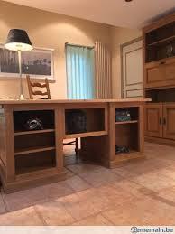 bureau qualité mobilier de bureau chêne de qualité supérieur a vendre 2ememain be