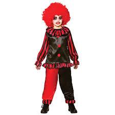 Kids Scary Clown Halloween Costumes Boys Evil Clown Halloween Childs Costume Fancy Dress Ireland