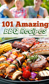 101 amazing bbq recipes picnics snacks and dishes