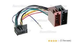 pioneer radio cable wire harness plug 16 pin cde6468 amazon co uk