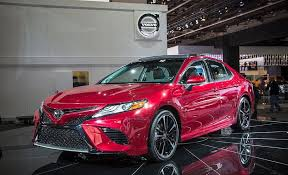 toyota camry 2018 toyota camry photos and info car and driver