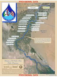 Colorado River Map Texas by Map Of Colorado River Pulse Moving Toward Sea Of Cortez U2014 High