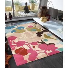 Buy Modern Rugs by Kailua Multi Colour Floral Rug