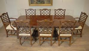 Chippendale Dining Room Set English Chippendale Mahogany Table U0026 Gothic Chair Dining Set For