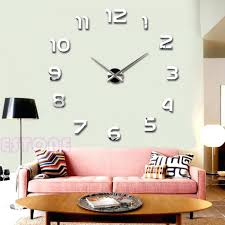 wall clocks number wall clock floating number wall clock roman large number wall hanging flip clockcalendar by linear arabic numeral wall clock 2017 fashion diy large