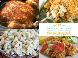 slow cooker whole bbq chicken meal plan sunday 29 the country