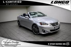 used lexus is 250 convertible used lexus is 250 c for sale in los angeles ca edmunds