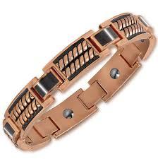 copper bracelet images Endurance men 39 s copper bracelet danbury mint jpg
