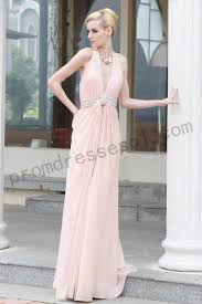 Red Carpet Gowns Sale by Prom Dresses Online On Sale Pink Deep V Neck Backless Chiffon