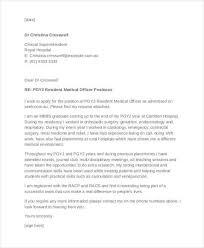 sample physician cover letter