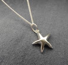 silver star necklace pendant images Silver star pendant and chain by anne reeves jewellery jpg