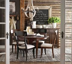 Highlands Round Dining Table By Bassett Furniture Contemporary - Bassett dining room