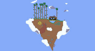 World Map Biomes by Terraria Biome Dome Survival Survival Terraria Maps Curse