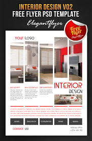 interior design v02 free flyer psd template fa by webstroy80