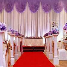 Wedding Backdrop Outlet Discount Wedding Backdrop Pleated Swags 2017 Wedding Backdrop