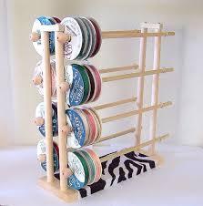 ribbon holders best 25 craft ribbon storage ideas on ribbon storage