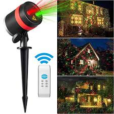 amazon com christmas lights laser star lights shower projector