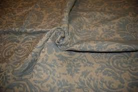 Blue Damask Upholstery Fabric Ralph Lauren
